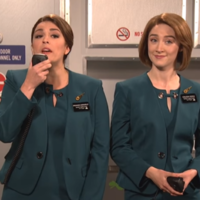 Saoirse Ronan's spoken out about THAT Aer Lingus sketch from her stint on SNL