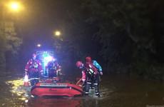 Elderly man dies after vehicle submerged in floodwater in England