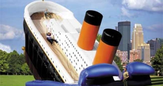17 bits of tacky Titanic memorabilia