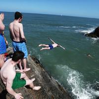 Warnings after swimmer injured at popular Dublin swimming spot