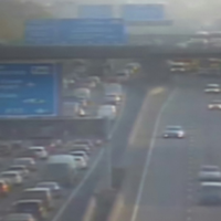 'Very heavy delays' after commuter crash on the M50