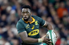 Rassie Erasmus names first black captain of the Springboks