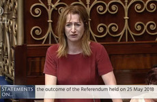 'It's like an enormous weight being lifted': Applause for Clare Daly's heartfelt referendum speech