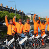 Nearly a year since being pulled from the streets, 'stationless' bikes are back in central Dublin