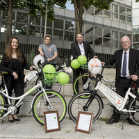 Stationless bike hire scheme launched in Dublin with 200 bikes hitting the streets right away