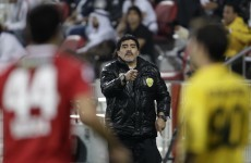 Maradona's team defends scuffle with heckling fans