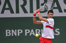 Djokovic dismisses on-court problems when there 'are people starving to death'