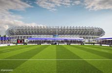 Edinburgh set for new 7,800-capacity home at Murrayfield