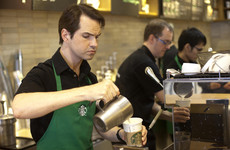 CNN accidentally used footage of Jimmy Carr pretending to work in Starbucks for a story