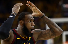 LeBron scores 51 but Cavs lose Finals opener to Warriors after Smith mistake