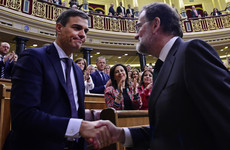 Socialist Sanchez takes over in Spain as Rajoy ousted by parliament