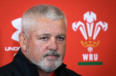 Gatland slams 'bitter and twisted' critics ahead of Wales-Springboks US Test