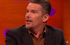 Ethan Hawke told Graham Norton a ridiculous story about a co-star dying onstage at Broadway
