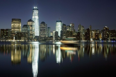 File photo of One World Trade Center in March