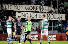 'Change hasn't worked for this club' - Bradley calls on Shamrock Rovers fans to stick with him