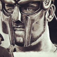 Russell Crowe was absolutely bowled over by this Irish artist's Gladiator creation