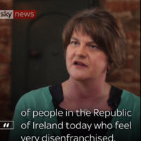 Arlene Foster claims Sinn Féin voters have told her they'll be voting DUP over abortion stance