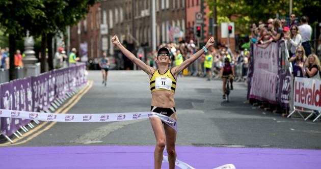 Olympian Lizzie Lee storms to victory as 30,000 fill the capital for Women's Mini Marathon