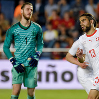 De Gea makes rare goalkeeping error as Spain are held in pre-World Cup friendly