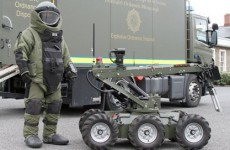 Two viable explosive devices made safe in Dublin overnight