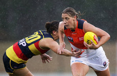 After an impressive debut season in Aussie Rules Cora Staunton signs new deal in Sydney