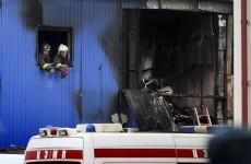 Blaze kills 12 at Moscow market warehouse