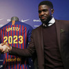 Barcelona defender's new contract has a €500 million buyout clause