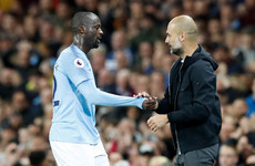 Toure says Guardiola 'has problem with African players'