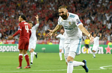 Benzema claims Champions League final goal was not lucky