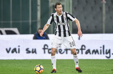 Lichtsteiner announced as Unai Emery's first Arsenal signing
