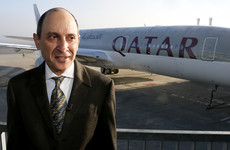 Qatar Airways CEO says only a man can do his job because 'it is a very challenging position'