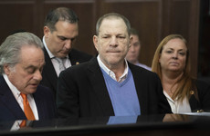 Harvey Weinstein pleads not guilty to rape and criminal sex charges