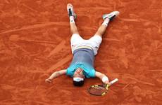 World number 72 stuns Novak Djokovic to reach French Open semi-finals