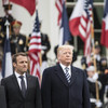 'It's best not to see the sausage being made': Macron tight-lipped on how his Trump phone-call went