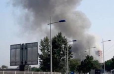 A massive explosion at a grain silo in Strasbourg has injured four people