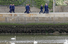 Garda team searching Bray harbour area after boxing club shooting