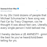People are sharing the best lies they told that people believed and they're amazing