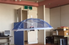 Japanese 'drone-brella' promises hands free protection from the sun