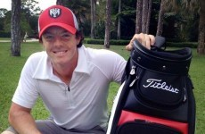 Rory's got a brand new bag: McIlroy extends UNICEF partnership