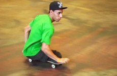 WATCH: Skateboarder with no legs is more talented than you