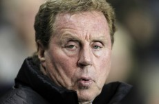 Redknapp tipping tight finish in battle for Champions League football
