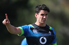 Schmidt names Carbery at out-half as O'Mahony captains Ireland