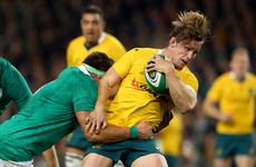 Cheika hands out two Test debuts for first Wallabies clash with Ireland