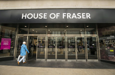 House of Fraser is closing more than half of its stores - but the shop in Dundrum won't be affected