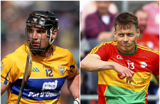 Clare and Carlow stars scoop GAA player of the month awards