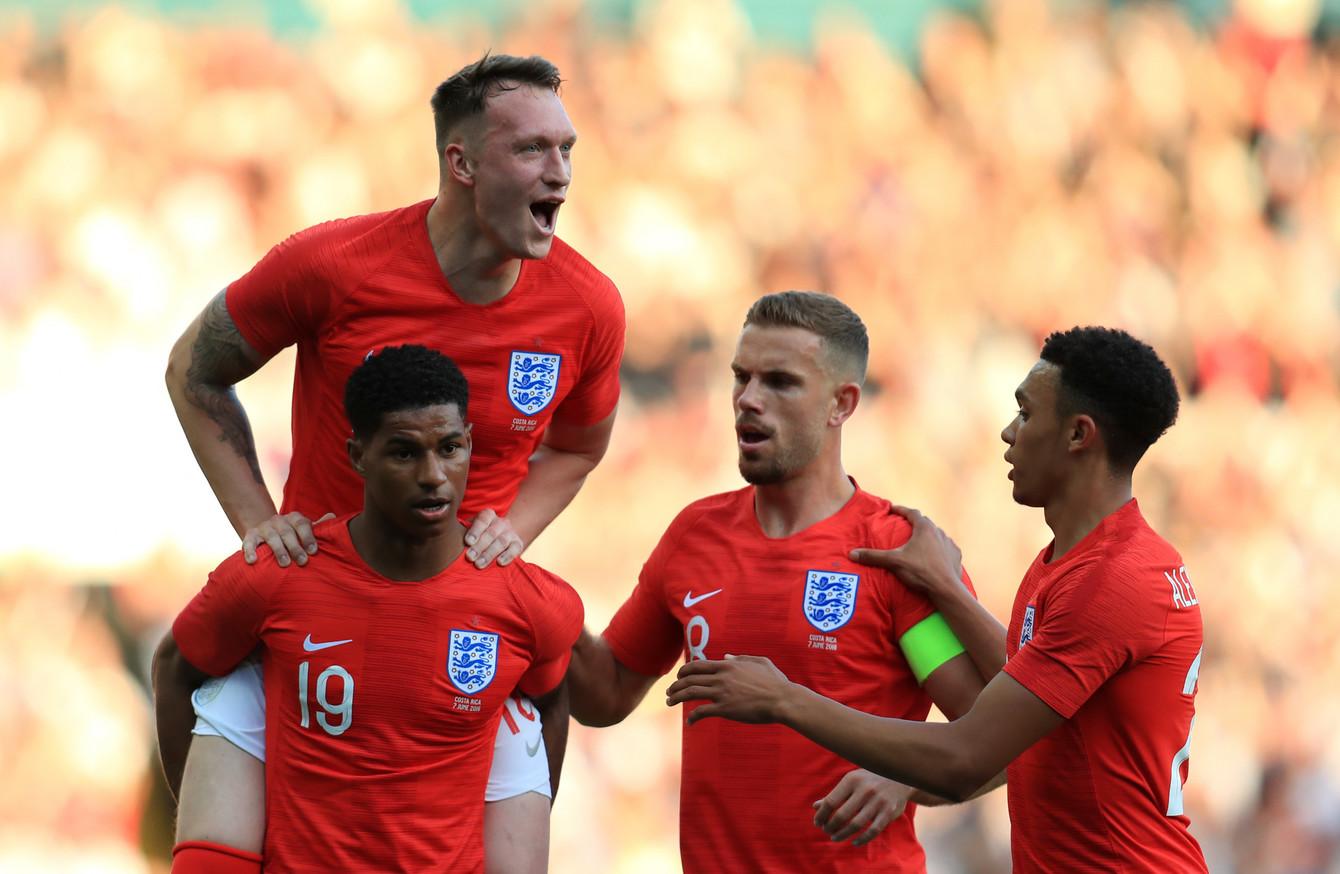 on sale f98fa d8ec2 Rashford makes claim for World Cup starting spot as England ...