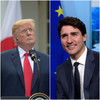Donald Trump fights with 'indignant' Trudeau and Macron on Twitter before meeting G7 leaders