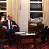 Coveney says he had 'frank dialogue' with Benjamin Netanyahu about Gaza