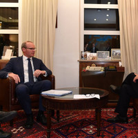 Coveney says he had 'frank dialogue' with Benjamin Netanyahu about Gaza