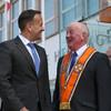 Leo Varadkar becomes first Taoiseach to visit Orange Order HQ in Belfast